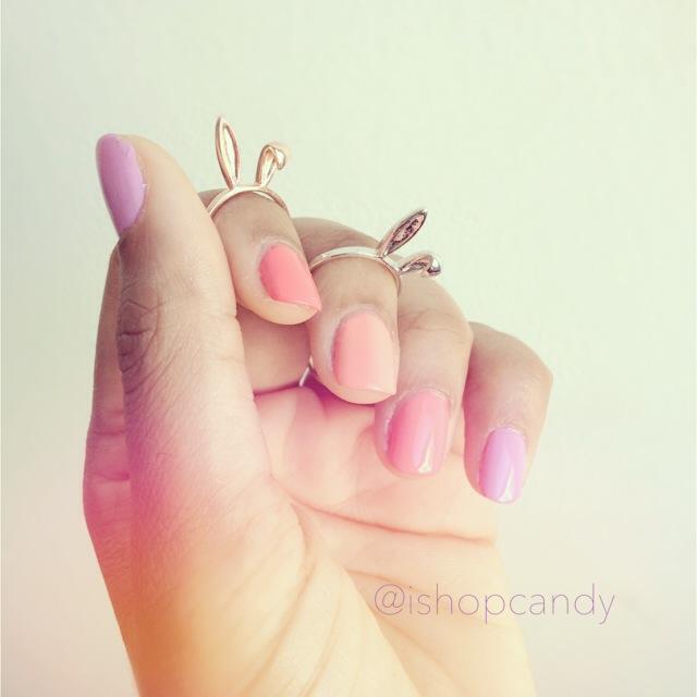 Bunny Ears Midi Ring