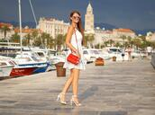 only my fashion style,blogger,dress,shoes,bag,summer outfits,summer dress,high heel sandals,red bag