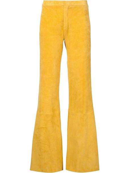 yellow orange pants
