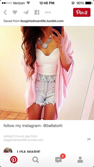 top bustier white top white crop tops crop tops crop lace top cardigan