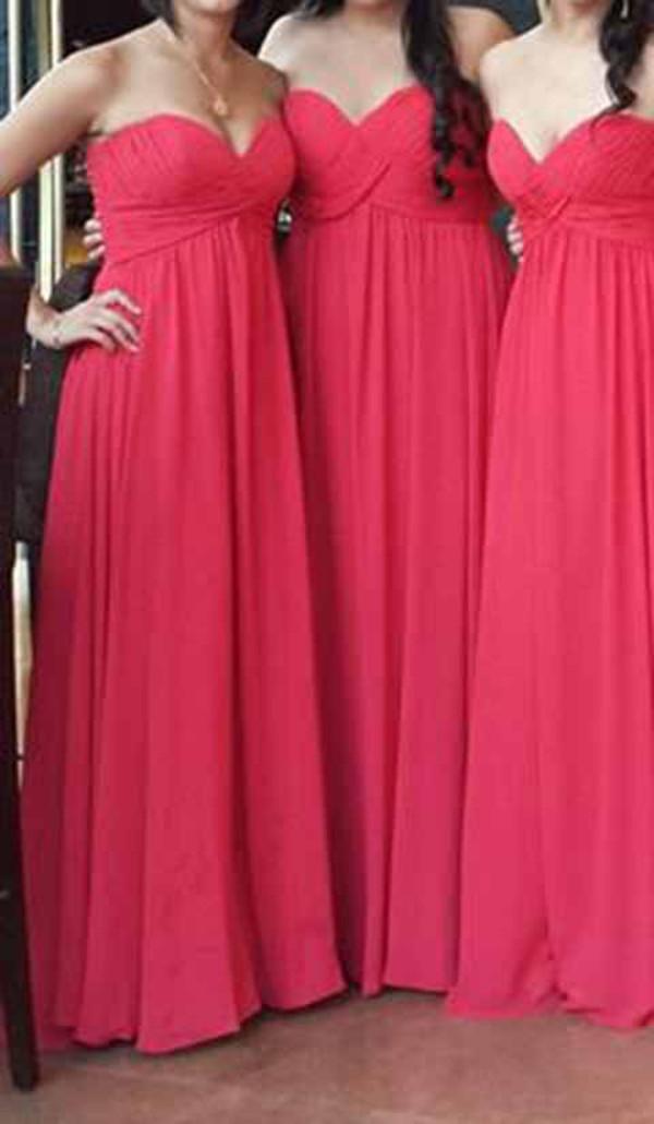 dress red dress pink fucsia dress