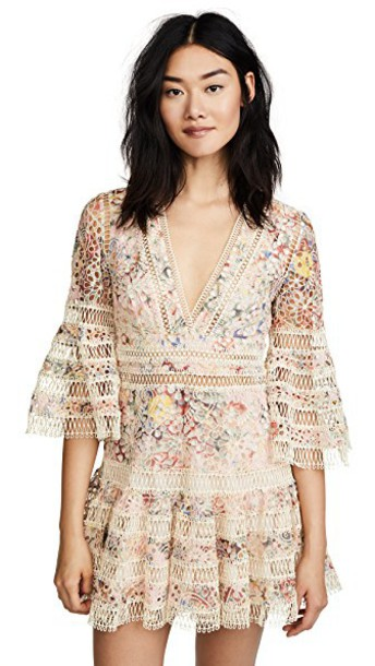 Zimmermann dress floral pink