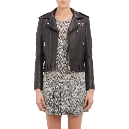 Iro lambskin leather moto jacket at barneys.com