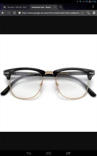 sunglasses noir rayban rayban clubmaster eyeglasses optic
