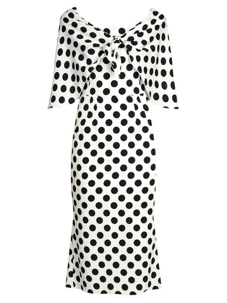 Dolce & Gabbana dress print white