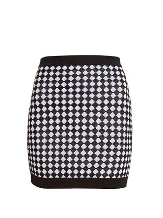 skirt mini skirt mini knit white black