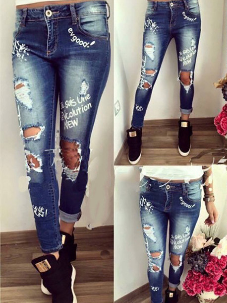 Jeans: denim, denim overalls, ripped jeans, black jeans, high ...