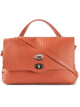 women bag crossbody bag leather yellow orange