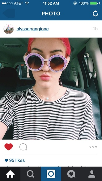 sunglasses sweet donut kawaii