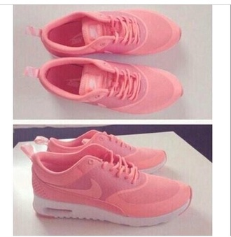 shoes nike pink trainers nike shoes girly girl girls sneakers girly shoes