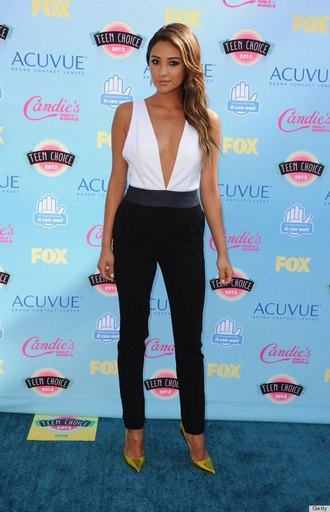 shay mitchell v neck