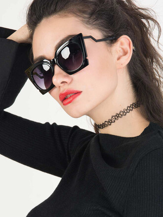 sunglasses girly girl girly wishlist black sunglasses