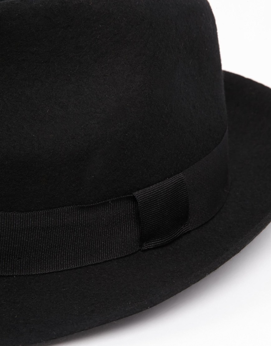 Catarzi Exclusive to ASOS Classic Trilby Hat at asos.com