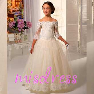 dress flower girl dress wedding party dresses birthday party dresses for girls