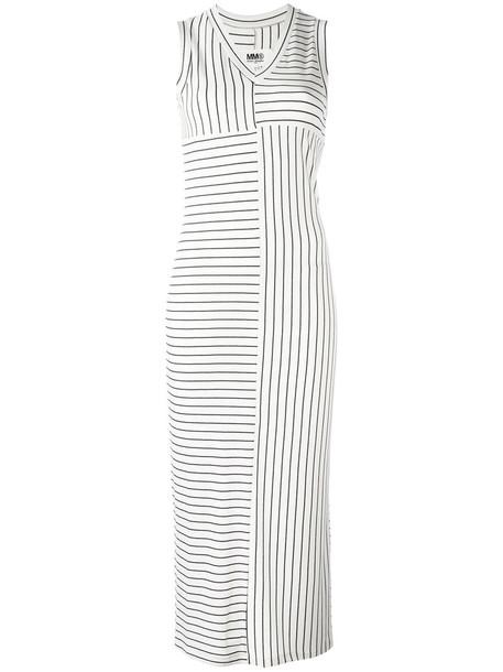 Mm6 Maison Margiela dress midi dress women midi spandex white