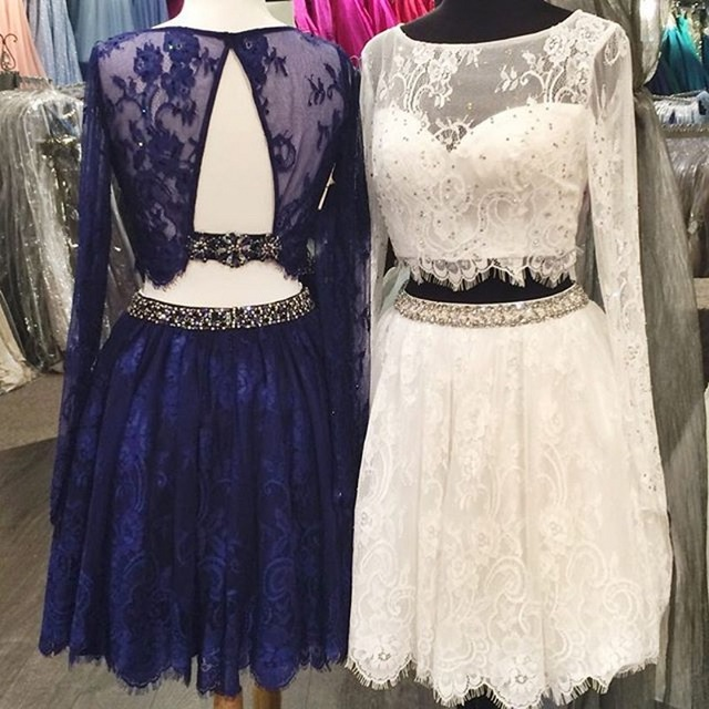 Aliexpresscom Buy Cute 8th Grade Graduation Dresses Short Two