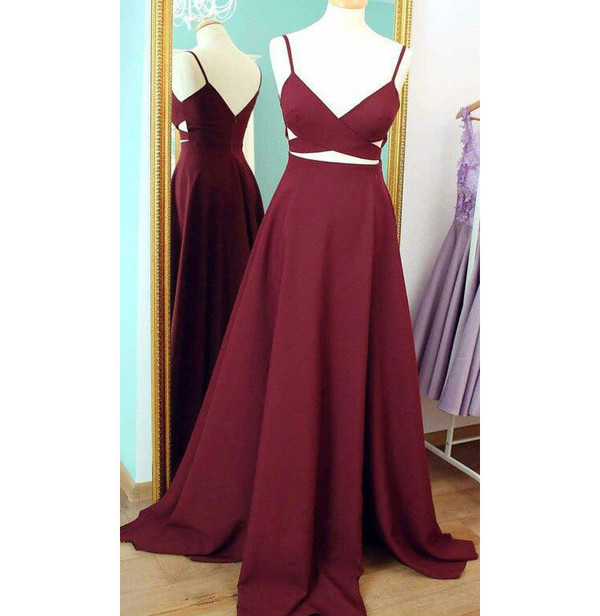 dress dressesofgirl a line prom dresses v neck prom dresses prom dress satin prom dresses long prom dress prom dresses 2017 ball gowns ball gowns  dress ball gown dress burgundy prom dresses Maroon Prom Dresses