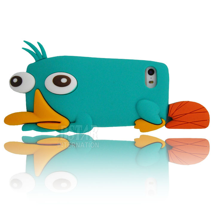 Aliexpress.com : Buy New arrival cute cartoon Perry the Platypus model silicon material Cover Case for iphone 5 5S 5C PT1119 from Reliable case jacket suppliers on B-STAR Hongkong Science & Technology CO., LTD