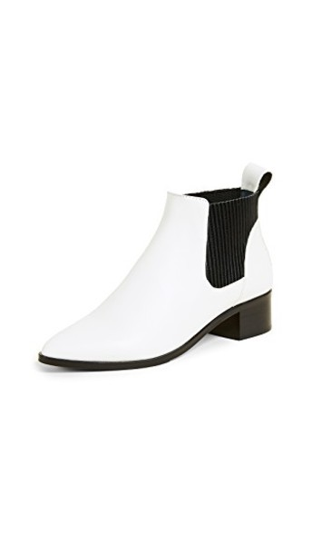 Dolce Vita booties white shoes