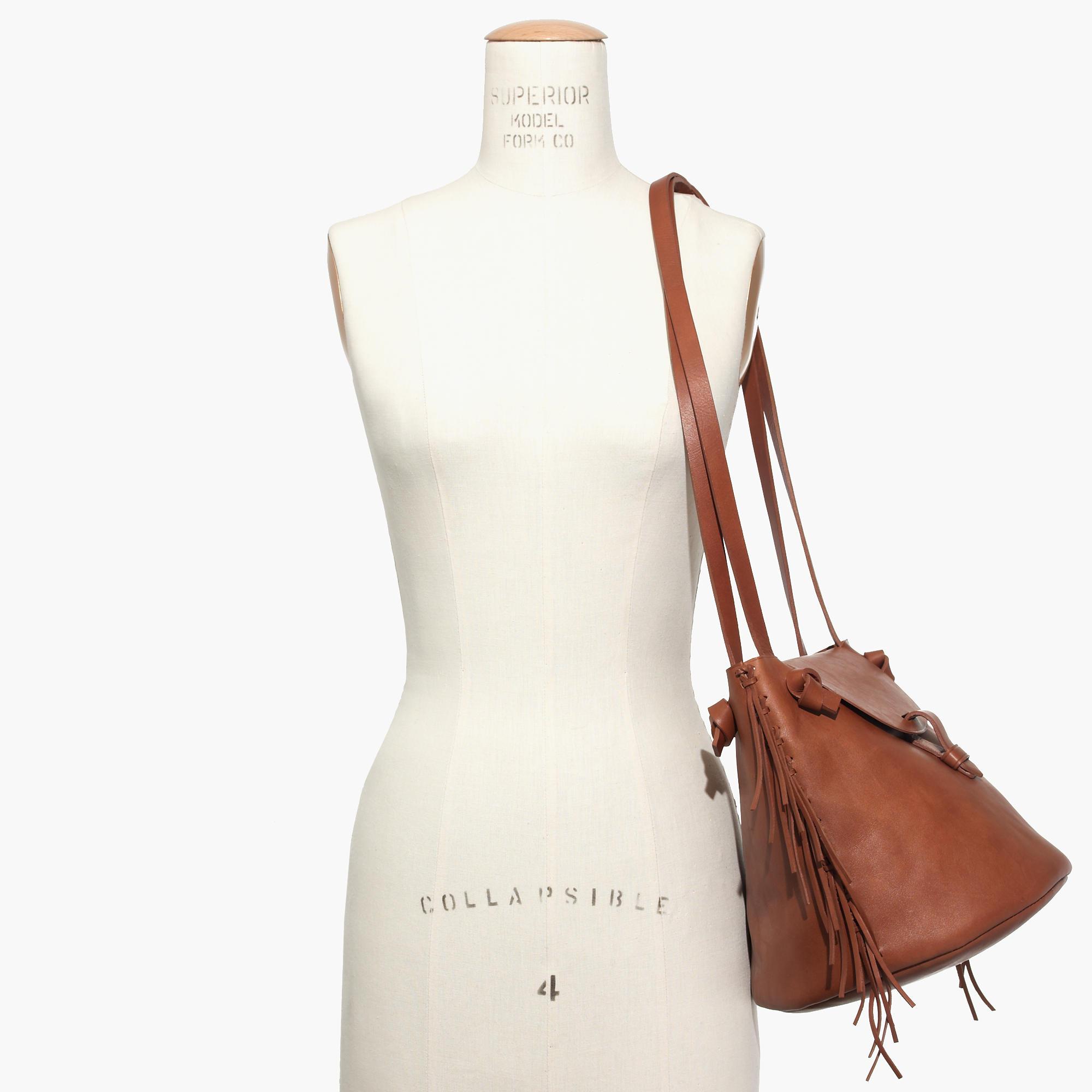The Fringe Bucket Bag