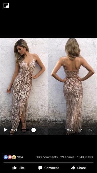 dress sparkly prom dress patterned dress