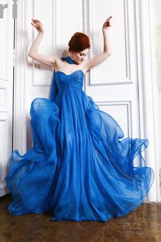 dress edressit fashion beautiful blue amazing