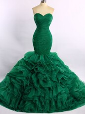 dress,prom,prom dress,dressofgirl,green,organza,bridesmaid,mermaid,mermaid prom dress,green dress,strapless,strapless dress,sweetheart dress,maxi,maxi dress,long,long dress,pretty,love,fashion,style,trendy,girly,cute,cute dress