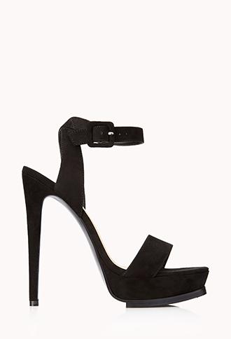 Striking Platform Sandals | FOREVER21 - 2000066429