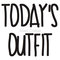 """today's outfit"" t-shirts & hoodies by alan craker 