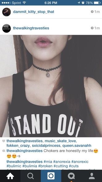 tank top stand out standoutshirt soft grunge