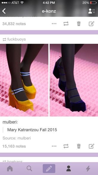 shoes velvet designer similar blue gold strap highheels