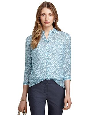 blouse button up blouse blue shirt blue long sleeve shirt shirt blue polkadot nice blouse