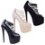 Ladies Womens 7 inch Stilettos Platforms High Heels Strappy Court Shoes Size | eBay
