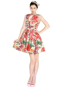 DRESSES - RED VALENTINO -  LUISAVIAROMA.COM - WOMEN'S CLOTHING - SPRING SUMMER 2014