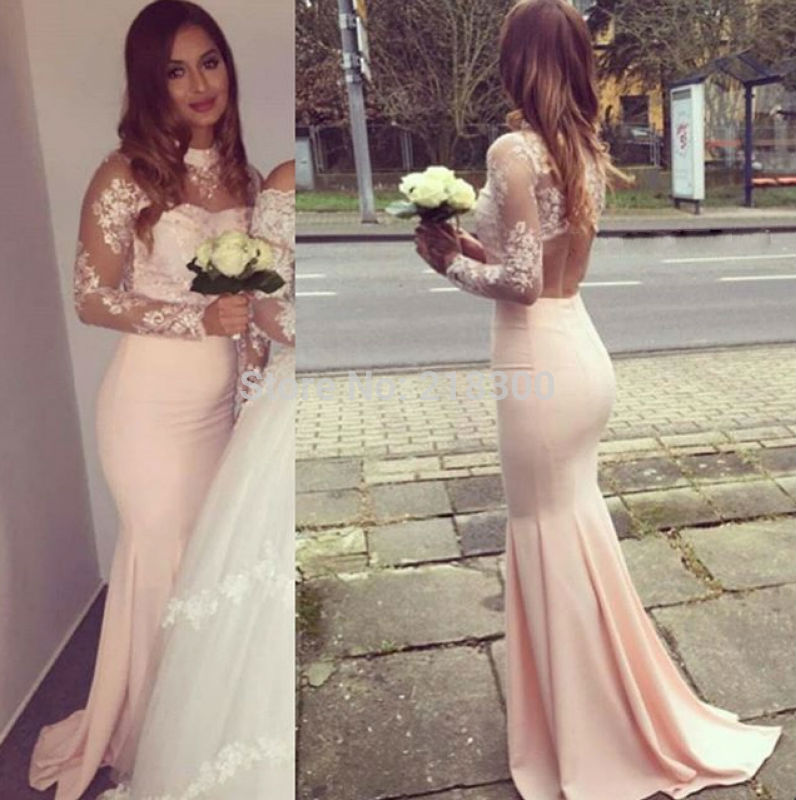 Peach Pageant Dress