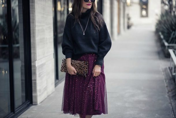 live more beautifully blogger skirt sweater jewels bag shoes sunglasses clutch tulle skirt winter outfits
