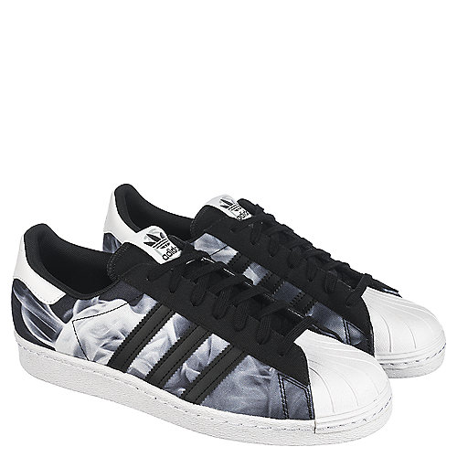 adidas superstar black womens