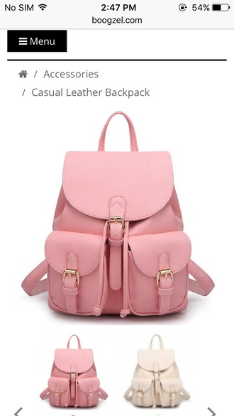 bag girl girly girly wishlist back to school backpack pink pink bag pink backpack