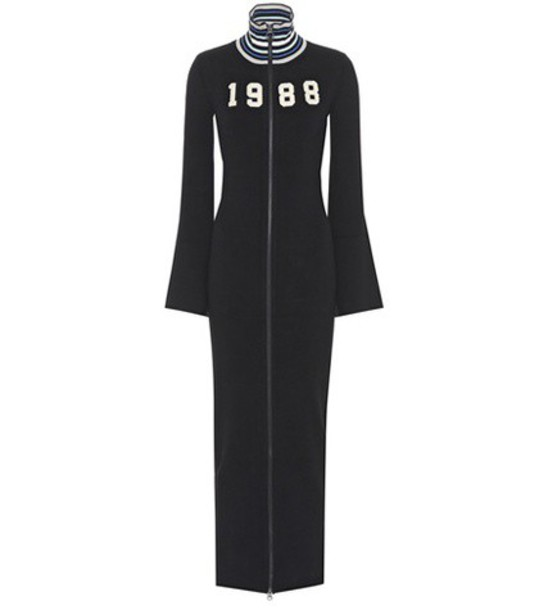 FENTY by Rihanna dress maxi dress maxi zip black