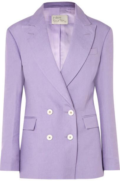blazer lilac jacket