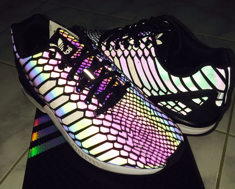 best hot products exquisite style Adidas Zx Flux Xeno Black Reflective Limited B24441 BRAND ...