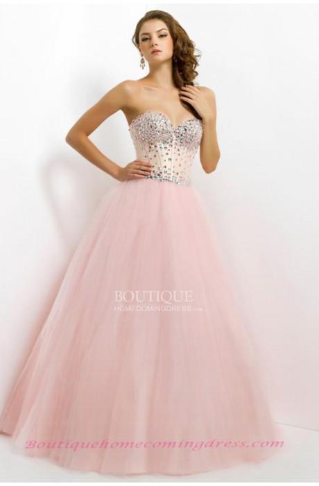 Ball gown sleeveless zipper sweetheart quinceanera dress