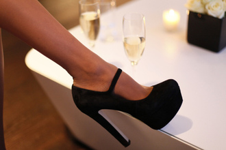 platform shoes black shoes shoes pumps maryjanes mary-jane maryjane pump black pumps high heels heels black black prom shoes glitter black heels heels
