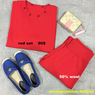 shirt red sweet long sleeves women girl red shirt fashion european style brand wool wooly pants sportswear casual pant lenggings top cute jacket chanel t-shirt