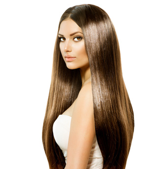 hair accessory fashion inspo brunette straighthair