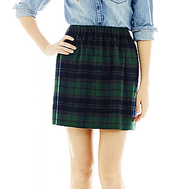 Joe Fresh™ Tartan Skirt - jcpenney