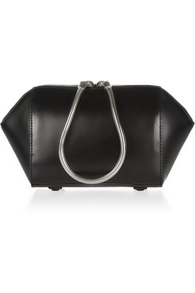 Alexander Wang|Chastity leather cosmetics case|NET-A-PORTER.COM
