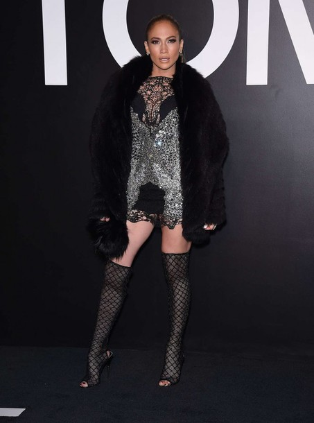 dress boots jennifer lopez lace coat shoes