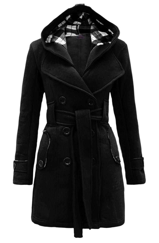 Womens Check Hood Coat at Amazon Women's Coats Shop