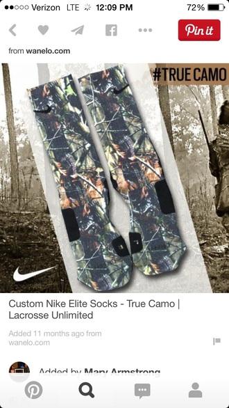 socks nike running shoes camo jacket